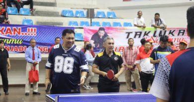 Kejuaraan Tenis Meja Prakasa Rucira Garjita Cup 1 se- Bali di Buka Kapolda Bali