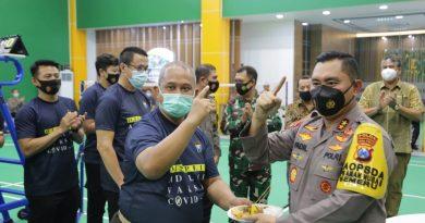 Gedung Bulutangkis Tangguh Semeru Polda Jawa Timur, Diresmikan Kapolda Jatim