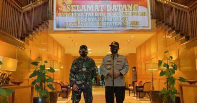 Masyarakat Jangan Terintervensi Oleh Kelompok Yang Tidak Setuju Kedatangan TNI-Polri