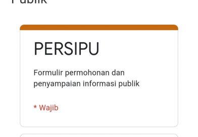 """""""PERSIPU"""" Aplikasi Pelayanan Masyarakat yang Disediakan Humas Buleleng"""